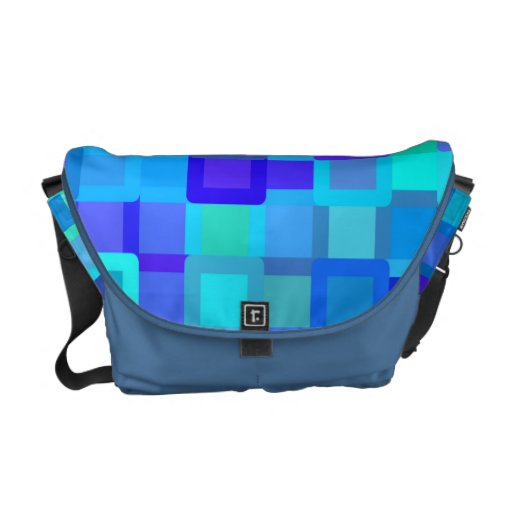 Colorful Blocks Messenger Bag