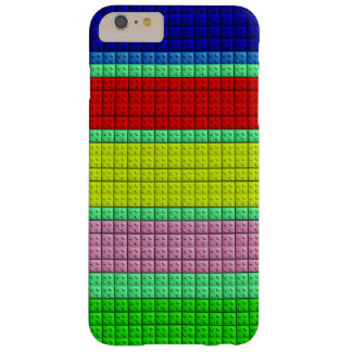 Colorful blocks pattern barely there iPhone 6 plus case