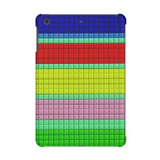 Colorful blocks pattern iPad mini retina case