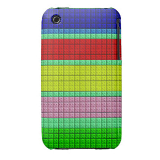 Colorful blocks pattern iPhone 3 cover