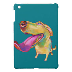 Case Savvy iPad Mini Glossy Finish Case with Labrador Retriever Phone Cases design