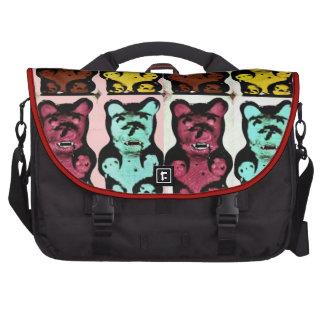 Colorful Blood Sucking Gummies Laptop Messenger Bag