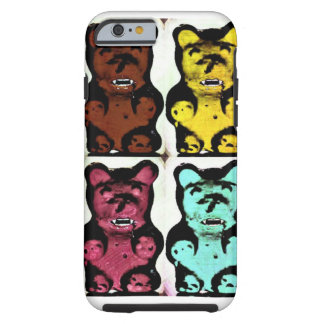 Colorful Blood Sucking Gummy Bruins Tough iPhone 6 Case