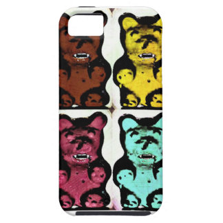 Colorful Blood Sucking Gummy Bruins iPhone 5 Case