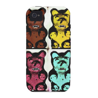 Colorful Blood Sucking Gummy Bruins Case-Mate iPhone 4 Covers
