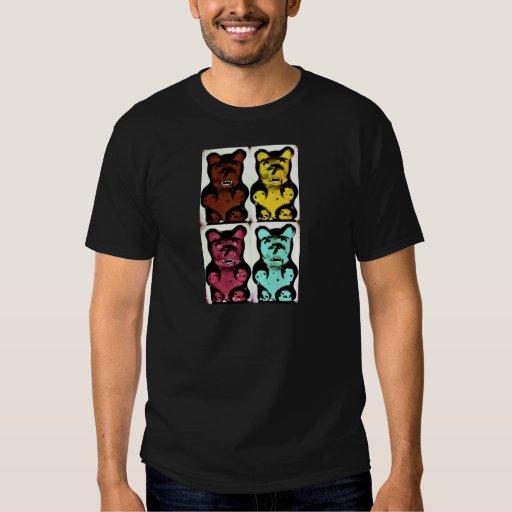Colorful Blood Sucking Gummy Bruins Shirts