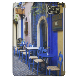 Colorful Blue doorway and siding to old hotel in Case For iPad Air