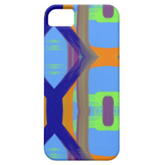 Colorful Blue Green Orange Customized Art Pattern iPhone SE/5/5s Case