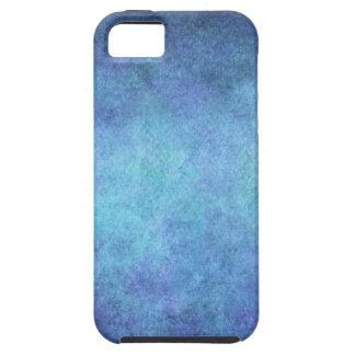 Colorful Blue Purple Watercolor Paper Background iPhone SE/5/5s Case