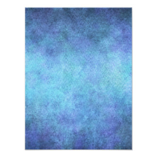 Colorful Blue Purple Watercolor Paper Background Photo Print