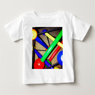 Colorful Blue Red Green Yellow Children's Toy Baby T-Shirt