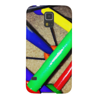 Colorful Blue Red Green Yellow Children's Toy Galaxy S5 Case