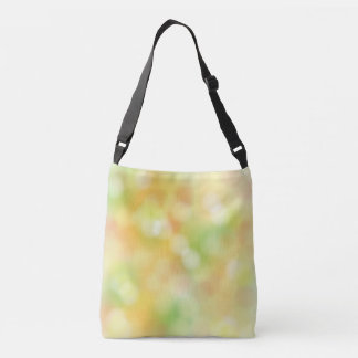 Colorful blur pattern crossbody bag
