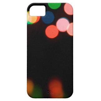 Colorful blurry dreamlike bokeh pattern iPhone 5 covers