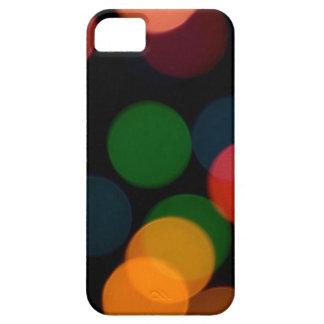 Colorful blurry dreamlike bokeh pattern iPhone 5 cover