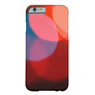 Colorful blurry dreamlike bokeh pattern barely there iPhone 6 case
