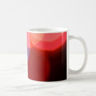 Colorful blurry dreamlike bokeh pattern classic white coffee mug