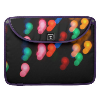 Colorful blurry dreamlike bokeh pattern sleeve for MacBooks