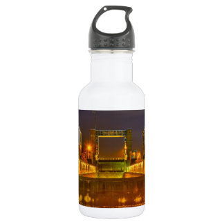 Colorful boat-lift stainless steel water bottle