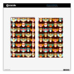 Colorful Boheme Owls Pattern Skins For Kindle Fire