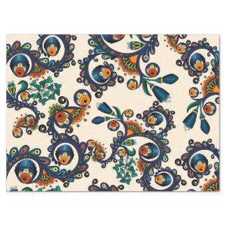 Colorful Bohemian Boho MOD Hippy Chic Pattern Tissue Paper