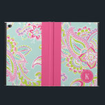 "Colorful Bohemian Paisley Monogram Powis iPad Air 2 Case<br><div class=""desc"">Custom design features an elegant ornate hand-drawn bohemian paisley design. Personalize it with your monogram initial in a dotted circle frame or click Customize It to add your own text and images to create a one of a kind design.</div>"