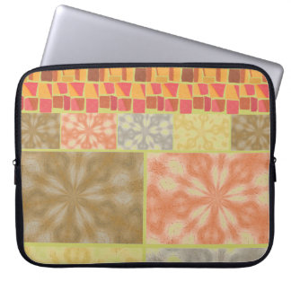 Colorful Bohemian Patchwork Laptop Sleeve