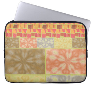 Colorful Bohemian Patchwork Laptop Computer Sleeves
