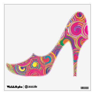 Colorful Bohemian Swirls Wall Sticker