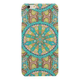 Colorful Boho Mandala Flower Pattern Glossy iPhone 6 Plus Case