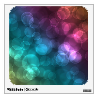 Colorful Bokeh Picture Wall Decals