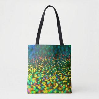 Colorful Bokeh Tote Bag