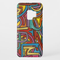 Colorful Bold Geometric Abstract Modern Art Case-Mate Samsung Galaxy S9 Case