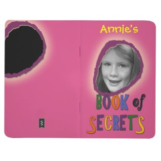 Colorful Book of Secrets Custom Photo and Name