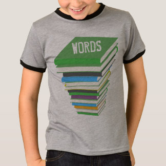 COLORFUL BOOK PILE T-Shirt