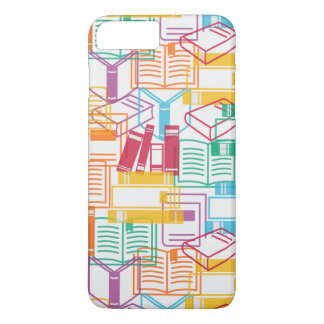 Colorful books binders pattern iPhone 8 plus/7 plus case