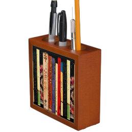 Colorful Books Pencil Holder