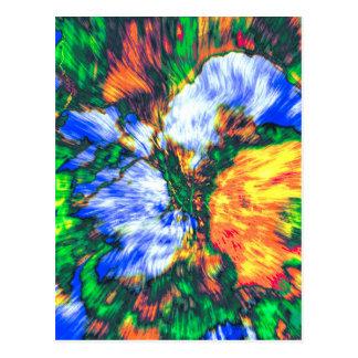Colorful Boquet Postcard