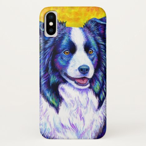 Colorful Border Collie Dog CaseMate Case