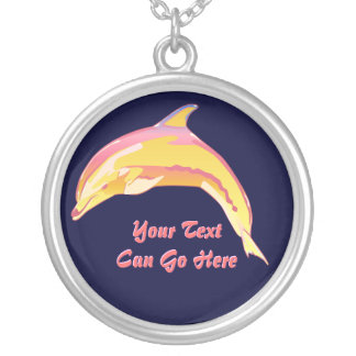 Colorful Bottle-Nose Dolphin Necklace