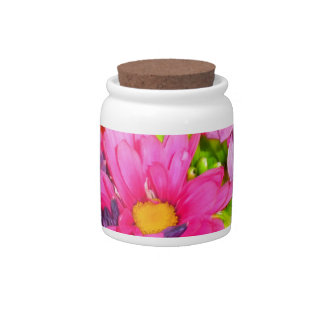 Colorful Bouquet Candy Jar