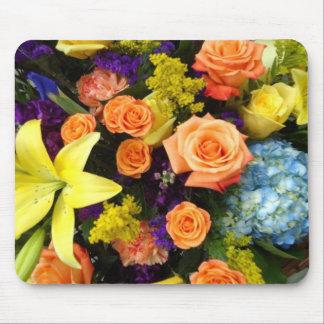 Colorful Bouquet Mouse Pad
