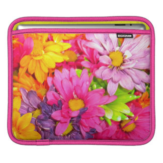 Colorful Bouquet Rickshaw iPad Sleeve
