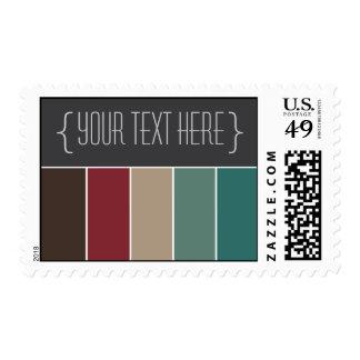 Colorful Boutique (v12) Designer Postage