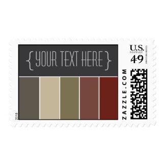 Colorful Boutique (v1) Designer Postage