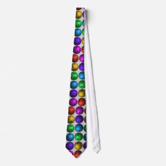 Colorful Bowling Ball Tie