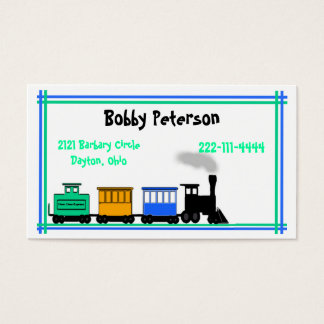 Colorful Boy's calling card