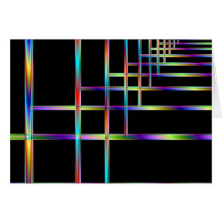 Colorful Brackets Greeting Card