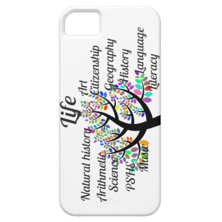 Colorful Branches of Life and Education iPhone SE/5/5s Case