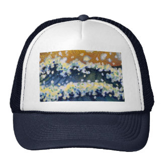 Colorful Breaking Waves Hat